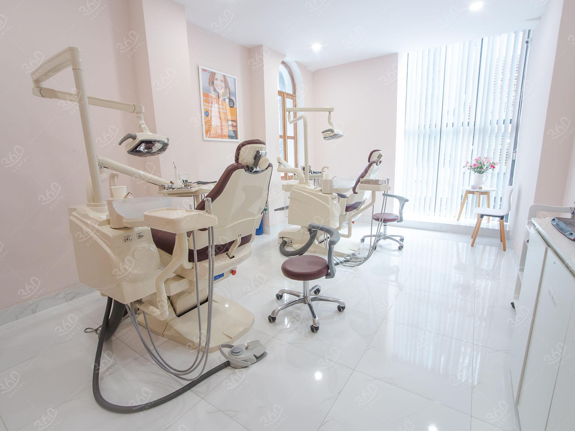 Cơ sở vật chất Nha khoa 360 Dental
