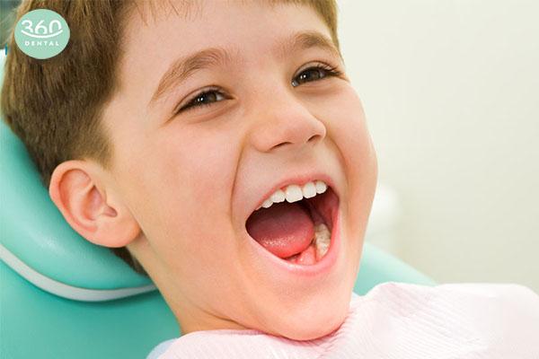 tác dụng của răng sữa
