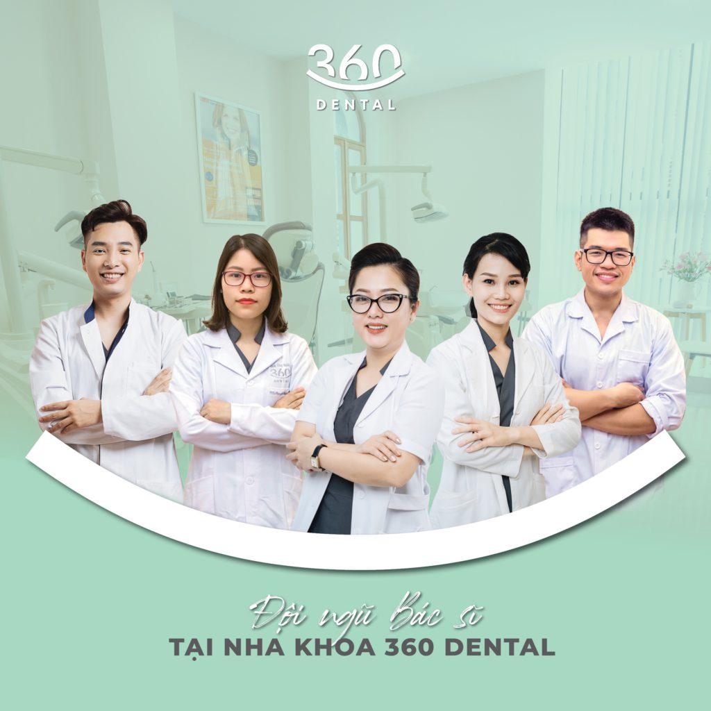 đội ngũ bác sỹ của Nha khoa công nghệ cao 360 Dental